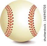 baseball bitmap copy | Shutterstock . vector #146945705