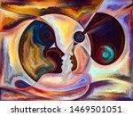 relationships in texture series.... | Shutterstock . vector #1469501051