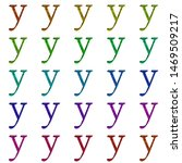 Set Of Letter Y  Lowercase ...