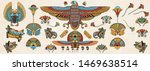 ancient egypt. old school... | Shutterstock .eps vector #1469638514