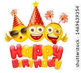 happy birthday greeting design... | Shutterstock .eps vector #1469639354