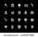 business   finance icons   ... | Shutterstock .eps vector #146967089