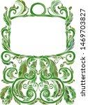 green  vintage watercolor style ...   Shutterstock .eps vector #1469703827