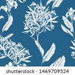 seamless pattern chinoiserie...   Shutterstock .eps vector #1469709524