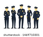 police team. a group of... | Shutterstock .eps vector #1469710301