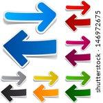 vector illustration of sticky... | Shutterstock .eps vector #146972675