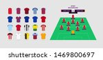 football team kit 2019 2020...   Shutterstock .eps vector #1469800697