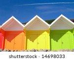 Three Seaside Beach Chalets ...