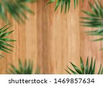 wooden background with summer... | Shutterstock . vector #1469857634