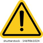 warning signs used in... | Shutterstock .eps vector #1469861024