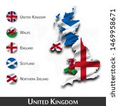 united kingdom of great britain ... | Shutterstock .eps vector #1469958671