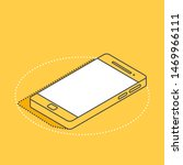isometric vector icon on a...
