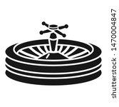 casino roulette icon. simple... | Shutterstock .eps vector #1470004847
