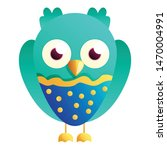 Stock vector cute owl icon cartoon of cute owl vector icon for web design isolated on white background 1470004991