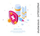 immunity concept for designs ... | Shutterstock .eps vector #1470010964