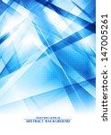 abstract digital blue... | Shutterstock .eps vector #147005261