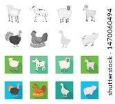 vector design of breeding and... | Shutterstock .eps vector #1470060494