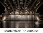 Under The Margit Bridge In...