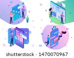 set of isometric concepts...   Shutterstock .eps vector #1470070967