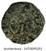 ancient medieval fleece coin of ... | Shutterstock . vector #1470095351