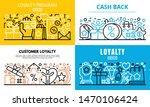 loyalty program reward banner...   Shutterstock .eps vector #1470106424