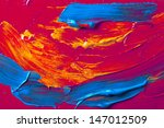 globs of thick primary color... | Shutterstock . vector #147012509