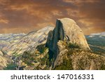 Beautiful Image Of Half Dome...