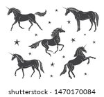 vector set collection of hand... | Shutterstock .eps vector #1470170084