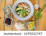 thai food  shrimp dumplings ... | Shutterstock . vector #1470221747