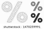 mesh percent model with... | Shutterstock .eps vector #1470259991