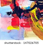 abstract painting | Shutterstock . vector #147026705