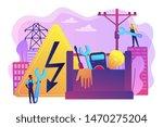 electrician engineer ...   Shutterstock .eps vector #1470275204