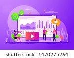 data analysis  business... | Shutterstock .eps vector #1470275264