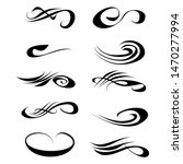 decorative monograms and...   Shutterstock . vector #1470277994