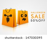 halloween sale background with... | Shutterstock .eps vector #147030395
