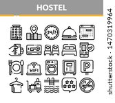 collection hostel elements... | Shutterstock .eps vector #1470319964