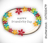 Happy Friendship Day Backgroun...