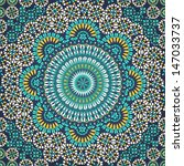 decorative colorful seamless... | Shutterstock .eps vector #147033737