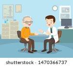 Doctor Examining Old Patient...