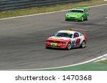 mustang and porsche on the race ... | Shutterstock . vector #1470368