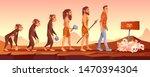 extinction of human species ... | Shutterstock .eps vector #1470394304