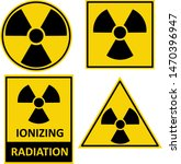 Set Of Vector Warning Stickers...