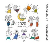 Funny Mouses  Symbol Of 2020...