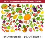 vegetables or veggies farmer... | Shutterstock . vector #1470455054