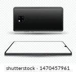 smartphone mockup for easy... | Shutterstock .eps vector #1470457961
