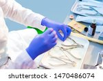 the surgeon prepares medical... | Shutterstock . vector #1470486074
