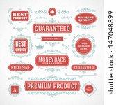 vector vintage premium quality... | Shutterstock .eps vector #147048899