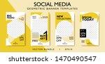 social media story layout for... | Shutterstock .eps vector #1470490547