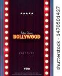 bollywood indian cinema. movie... | Shutterstock .eps vector #1470501437