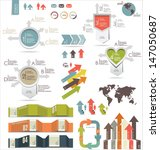 set of infographic elements | Shutterstock .eps vector #147050687